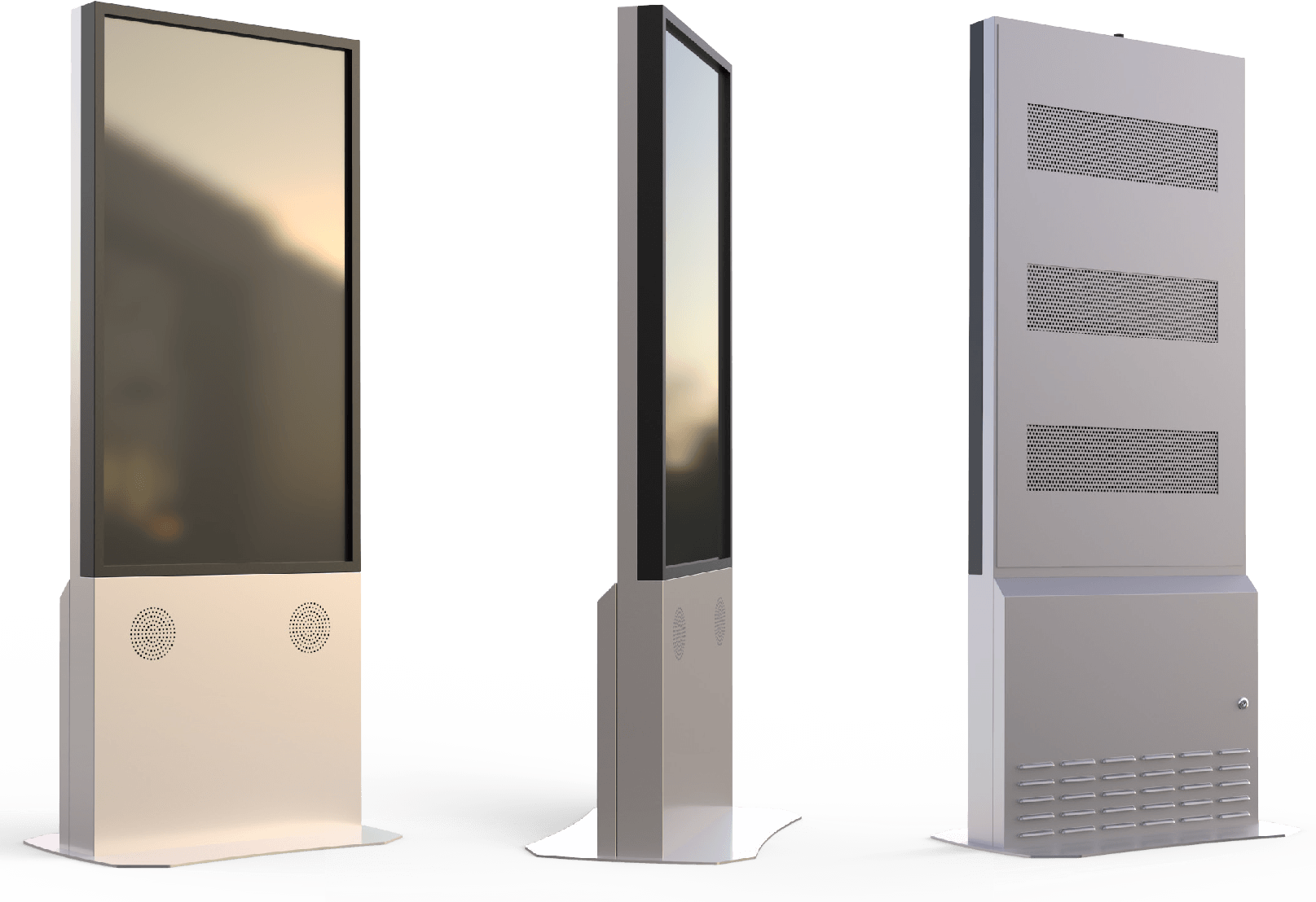 outdoor touch kiosks